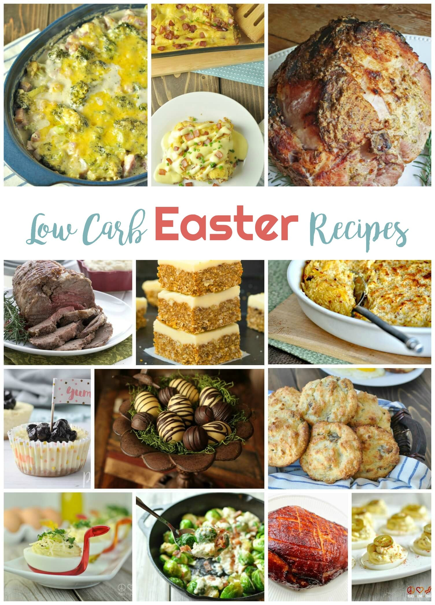 Low Carb Easter Dinner  Low Carb Easter Recipes