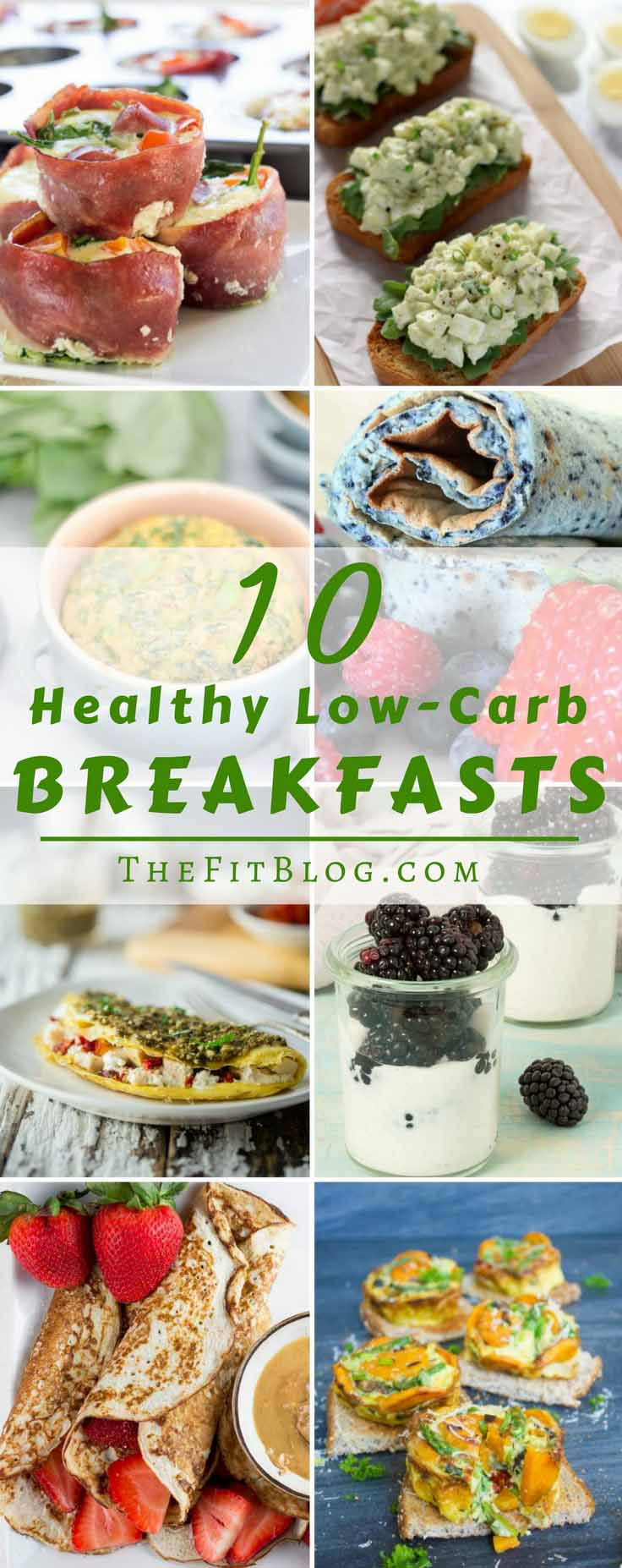 Low Carb Healthy Breakfast  10 Healthy Low Carb Breakfast Recipes