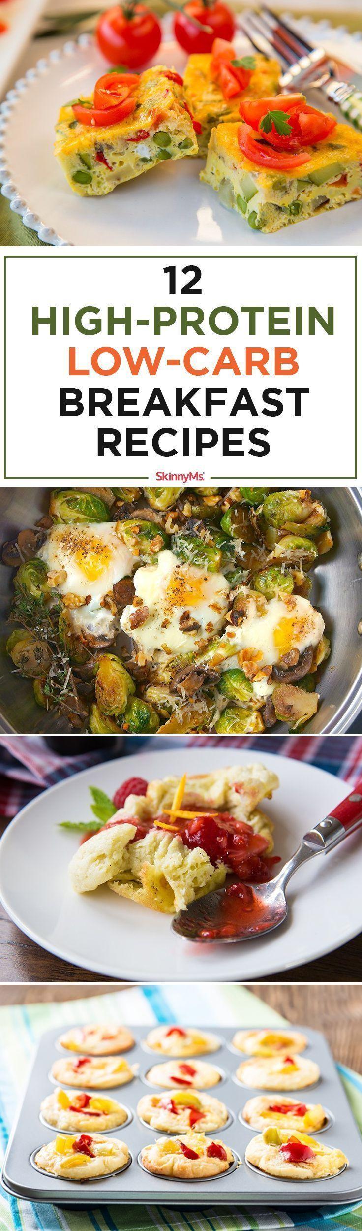 Low Carb Healthy Breakfast  15 bästa idéerna om Frukostrecept på Pinterest