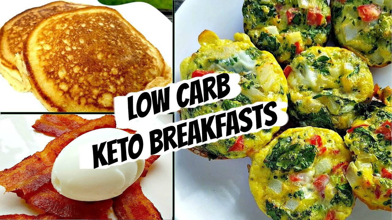 Low Carb Healthy Breakfast  Healthy Low Carb Breakfast Ideas
