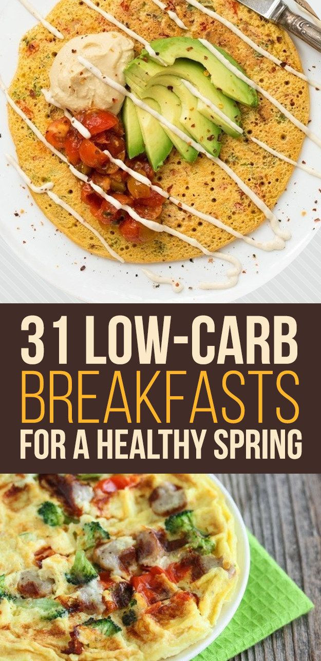 Low Carb Healthy Breakfast  31 Low Carb Breakfasts For A Healthy Spring from BuzzFeed