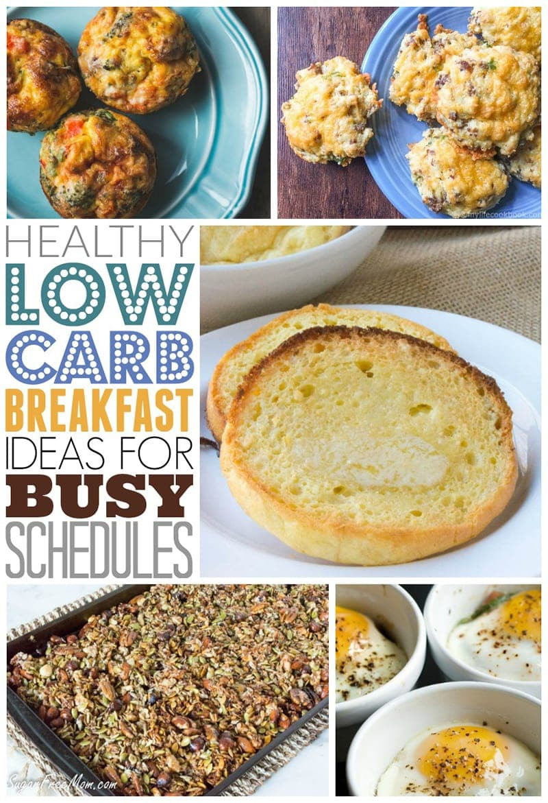 Low Carb Healthy Breakfast  Healthy Low Carb Breakfast Ideas for Busy Schedules 730