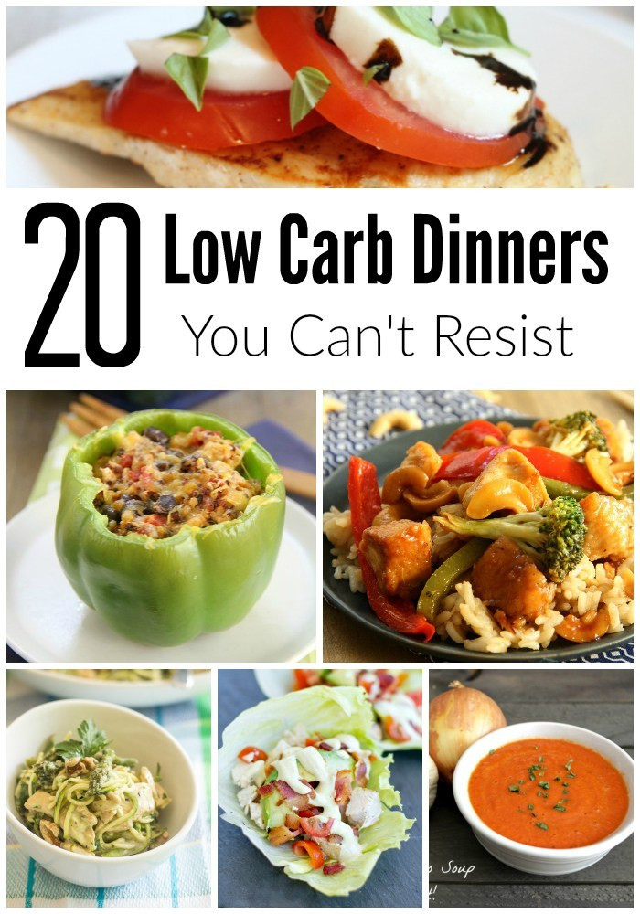 Low Carb Healthy Dinners  Going Low Carb 20 Dinner Recipe Ideas Too Good To Resist