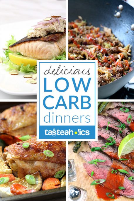 Low Carb Healthy Dinners  Low Carb Dinners Keto Dinner Recipes