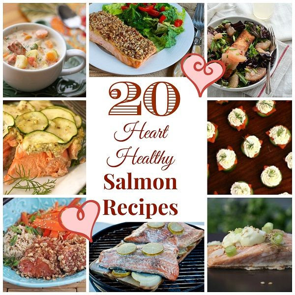 Low Carb Heart Healthy Recipes  20 Heart Healthy Salmon Recipes