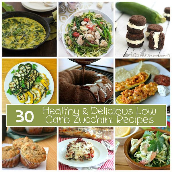 Low Carb Heart Healthy Recipes  30 Healthy & Delicious Low Carb Zucchini Recipes
