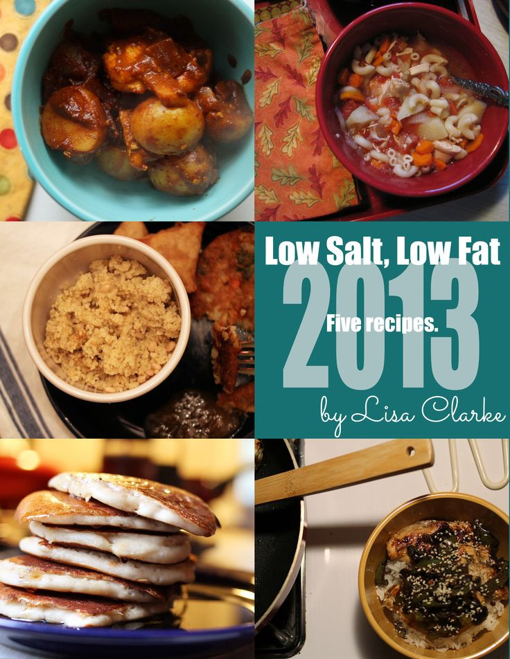 Low Sodium Heart Healthy Recipes  106 best images about Low sodium meals snacks on Pinterest