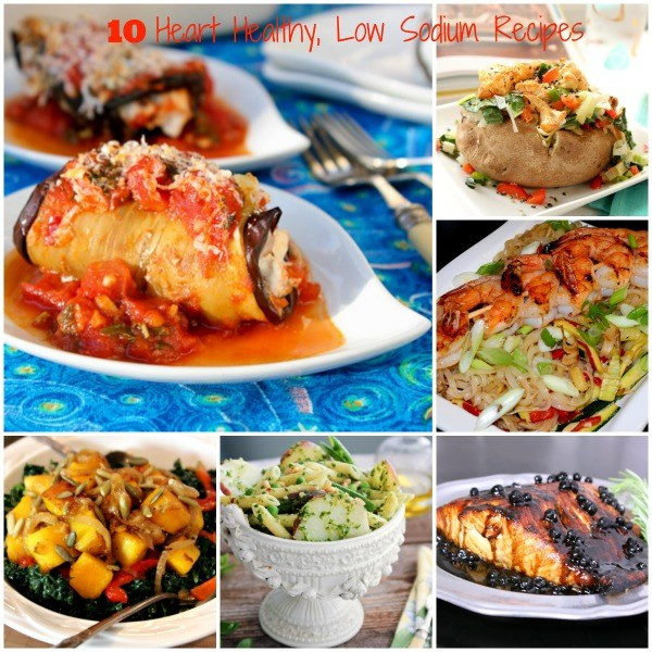 Low Sodium Heart Healthy Recipes  10 Heart Healthy Low Sodium Recipes to Stay Healthy All