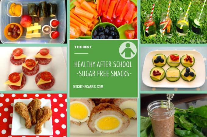 Low Sugar Healthy Snacks  Healthy Sugar Free Snacks after school and at work