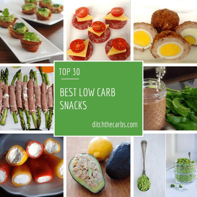 Low Sugar Healthy Snacks  Best Low carb Snacks ever
