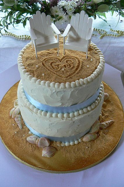 Lowes Foods Wedding Cakes  17 Best images about Beach Wedding Cakes on Pinterest