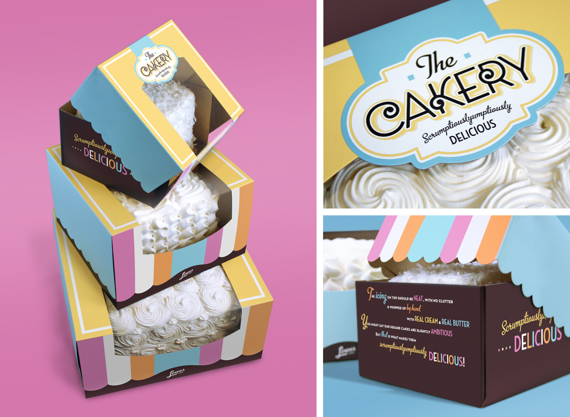 Lowes Foods Wedding Cakes  5 Creative Cake Packaging Design