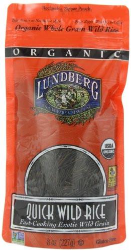 "Lundberg Organic Wild Rice  Cheap "" Lundberg Organic Quick Wild Rice 8 Ounce Pouches"