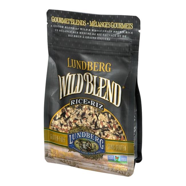 Lundberg Organic Wild Rice  Lundberg Wild Rice Blend 454g