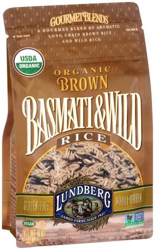 Lundberg Organic Wild Rice  Lundberg Organic Brown Basmati & Wild Rice 16 oz Pack of