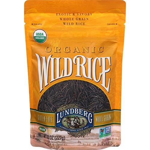 Lundberg Organic Wild Rice  Lundberg Organic Wild Rice 8 Ounce