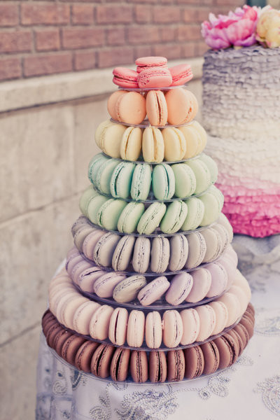 Macaroon Wedding Cakes  Cut the Cake The Hermosa Inn Blog