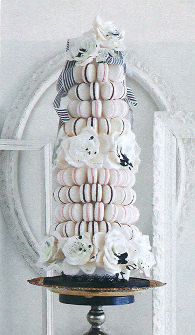 Macaroon Wedding Cakes  Life of a Vintage Lover Wedding Dessert Trend French