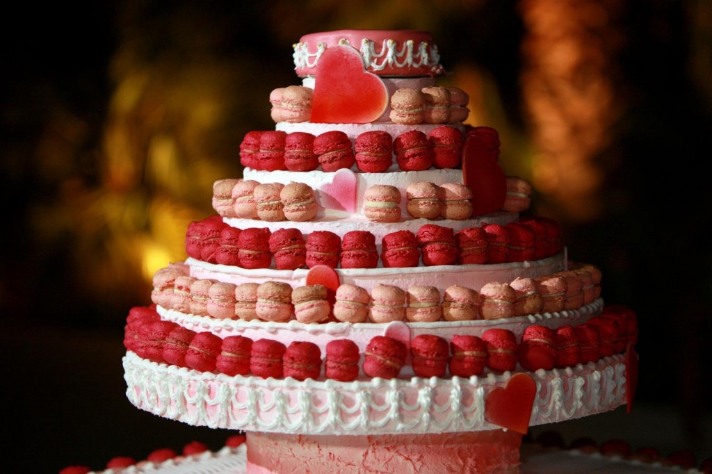 Macaroon Wedding Cakes  Macaroon wedding cakes idea in 2017