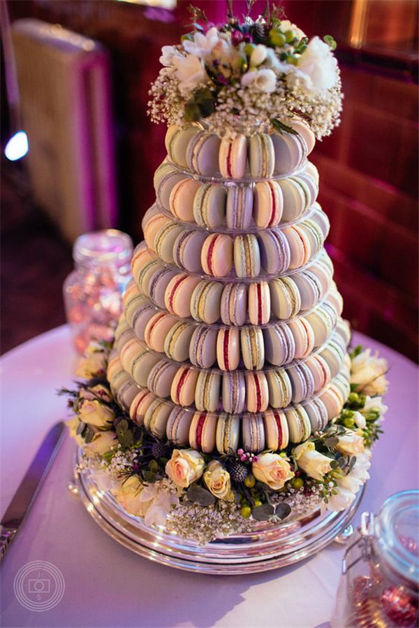 Macaroon Wedding Cakes  18 Sweet Macaroon Wedding Cake Ideas to Dazzle Your Guests