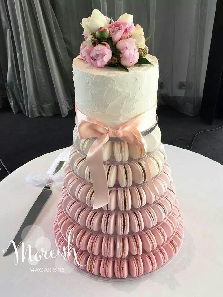 Macaroon Wedding Cakes  34 best Macarons Tower Idea images on Pinterest