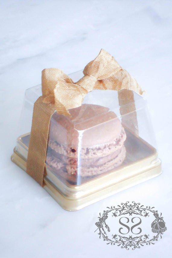Macaroons Wedding Favors  Wedding Favors French Macaron Favor Baptism munion Favor