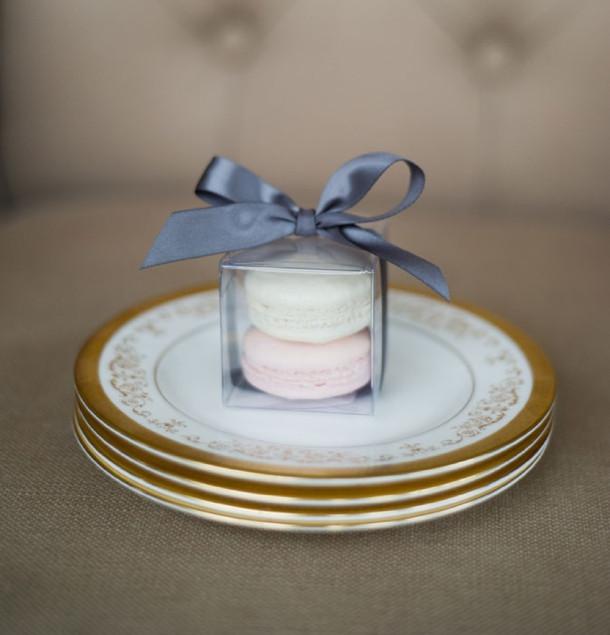 Macaroons Wedding Favors  005 southboundbride macaron wedding favours – SouthBound Bride