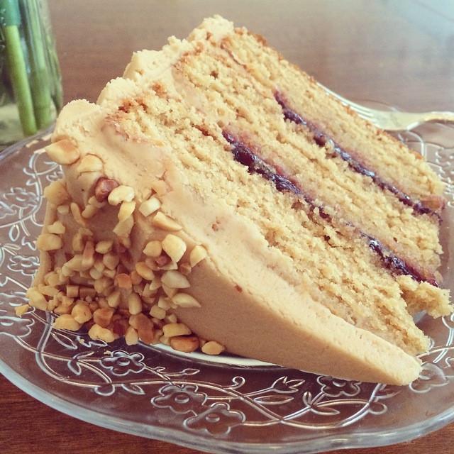 Magnolia Bakery Wedding Cakes  pbj cake Magnolia Bakery