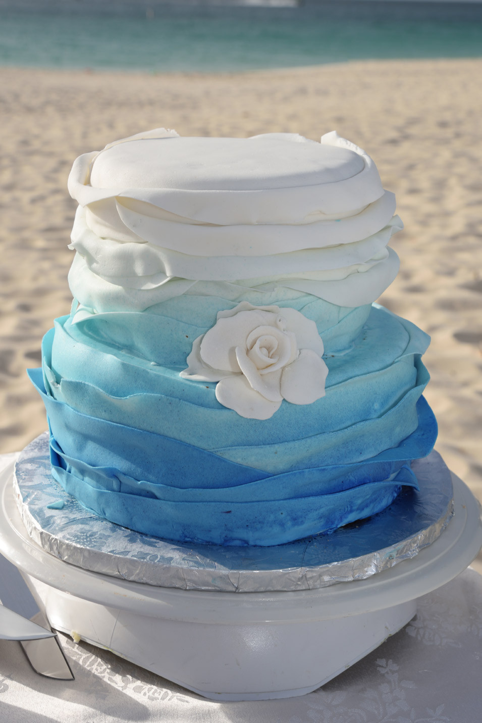 Mail Order Wedding Cakes  Aruba wedding cakes