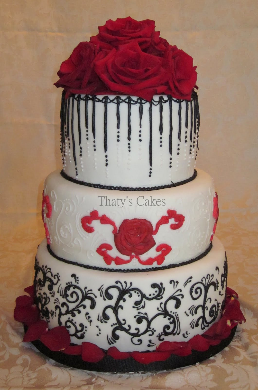 Mail Order Wedding Cakes  Thaty s Cakes Wedding and Birthday Cakes