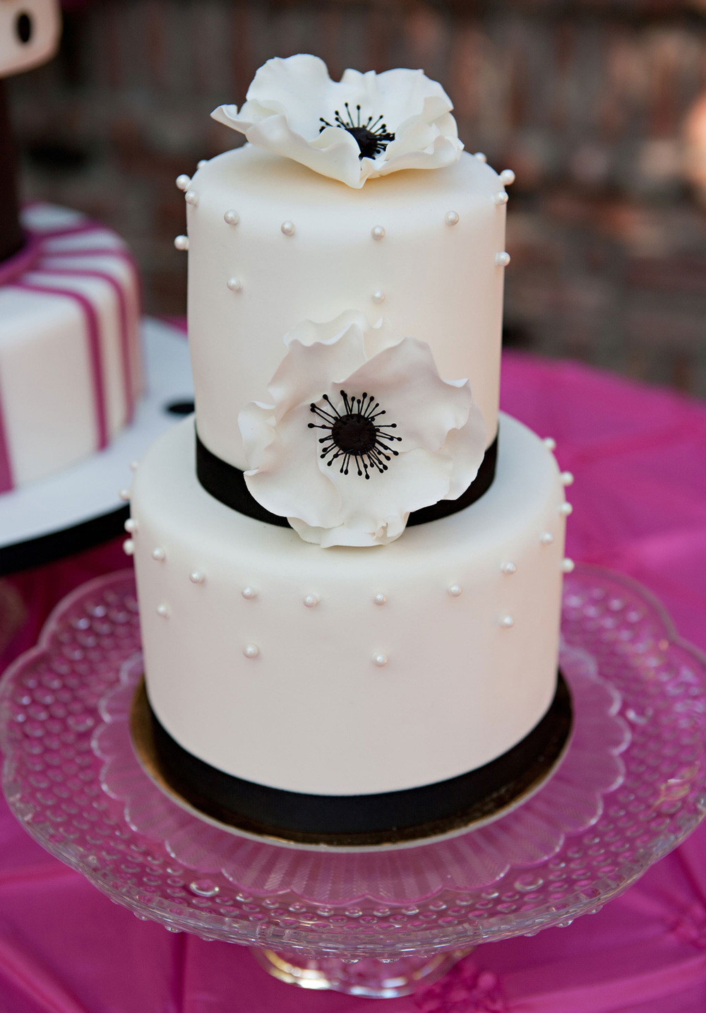 Mail Order Wedding Cakes  Fondant Wedding Cakes — Patisserie Angelica