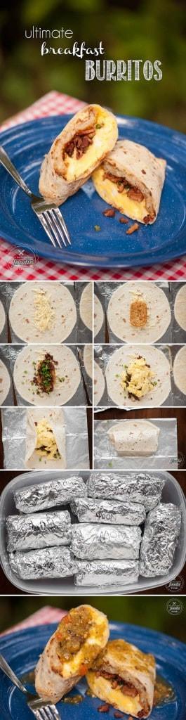 Make Ahead Breakfast Burritos For Camping  Ultimate Breakfast Burritos