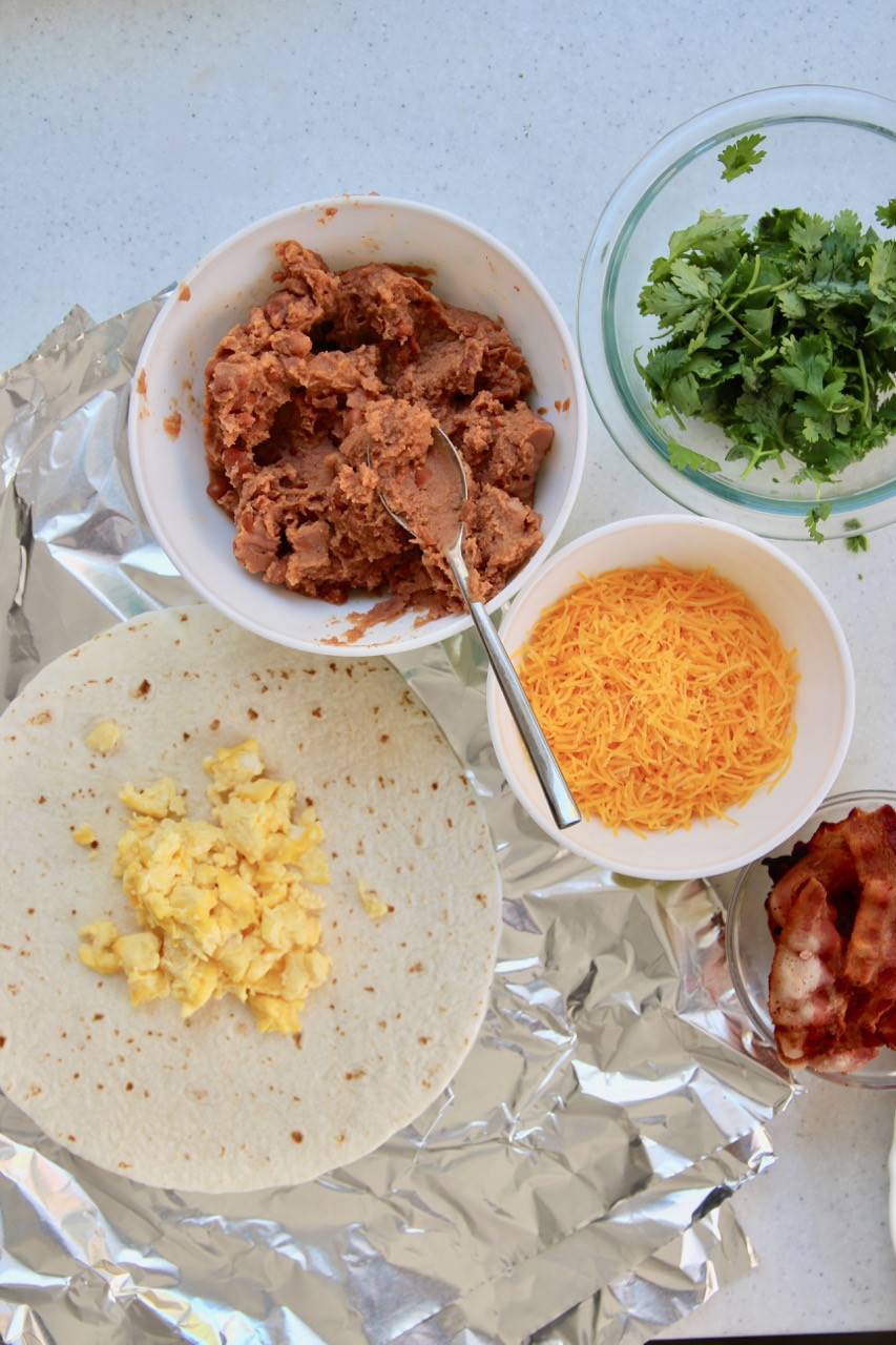 Make Ahead Breakfast Burritos For Camping  Recipe Easy Make Ahead Breakfast Burritos For Camping