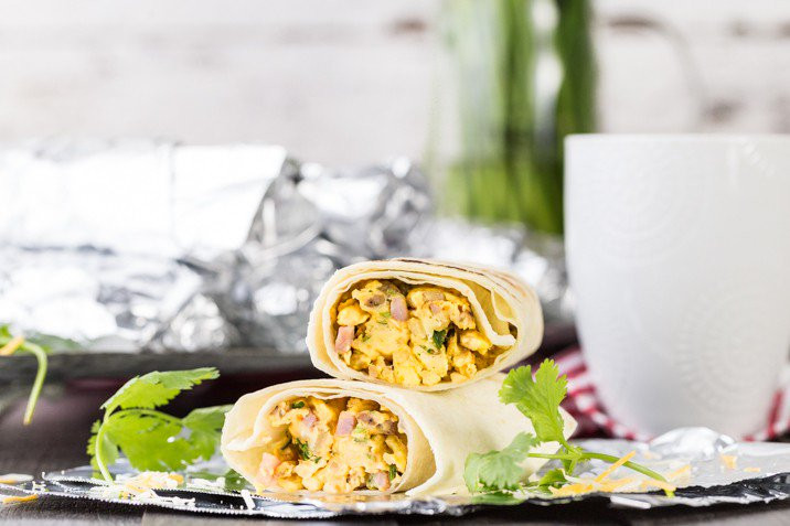 Make Ahead Breakfast Burritos For Camping  Southwest Make Ahead Breakfast Burritos
