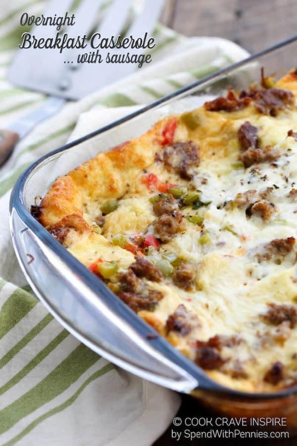 Make Ahead Breakfast Casserole Healthy  35 Scrumptious Make Ahead Brunch Casseroles