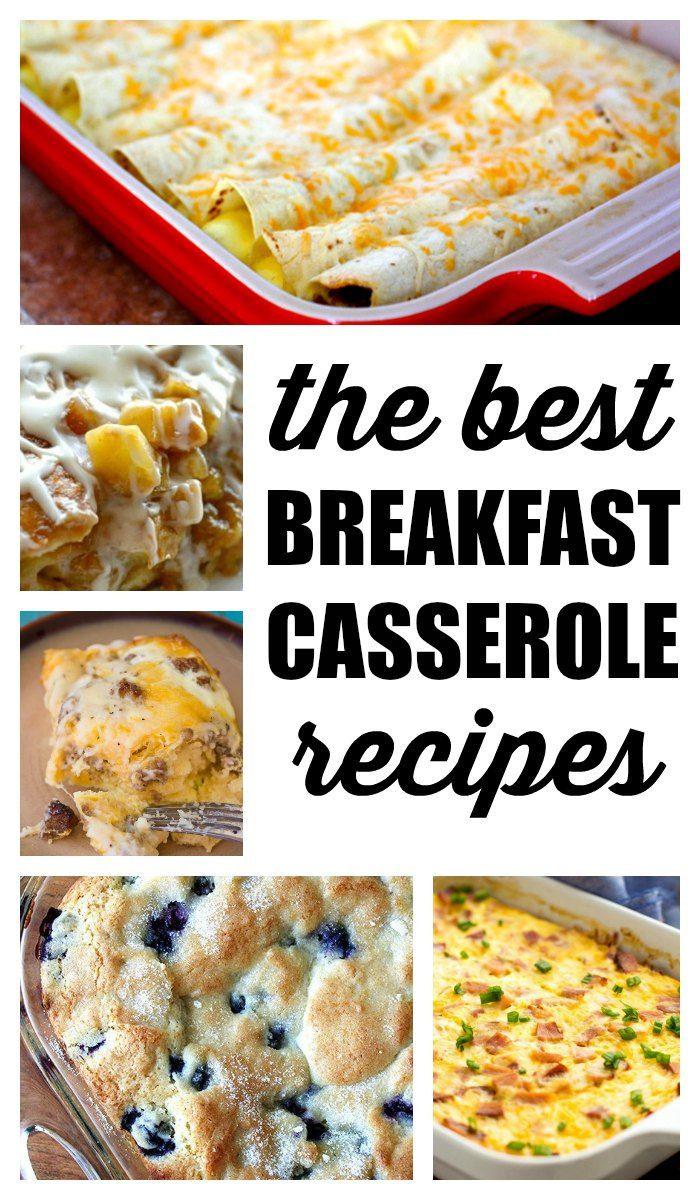Make Ahead Breakfast Casserole Healthy  15 Breakfast Casserole Recipes
