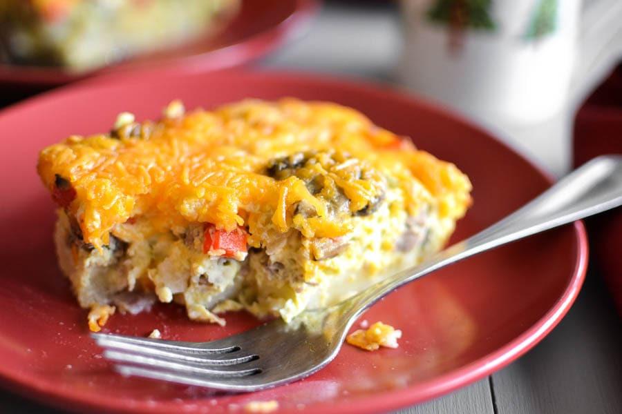 Make Ahead Breakfast Casserole Healthy  Healthy Make Ahead Sausage and Egg Breakfast Casserole