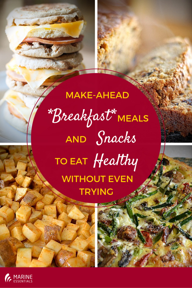 Make Ahead Breakfast Healthy  Make Ahead Breakfast To Eat Healthy Without Even Trying