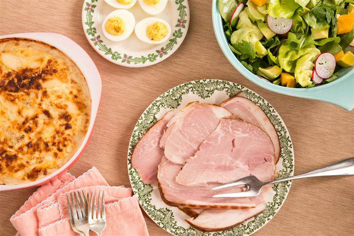 Make Ahead Easter Dinner  Make ahead Easter menu Celebrate with ham deviled eggs