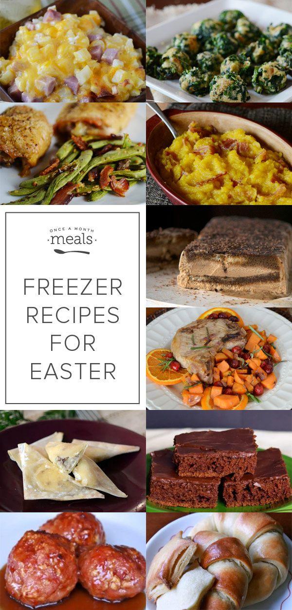 Make Ahead Easter Dinner  Make Ahead Freezer Recipes for Easter Dinner