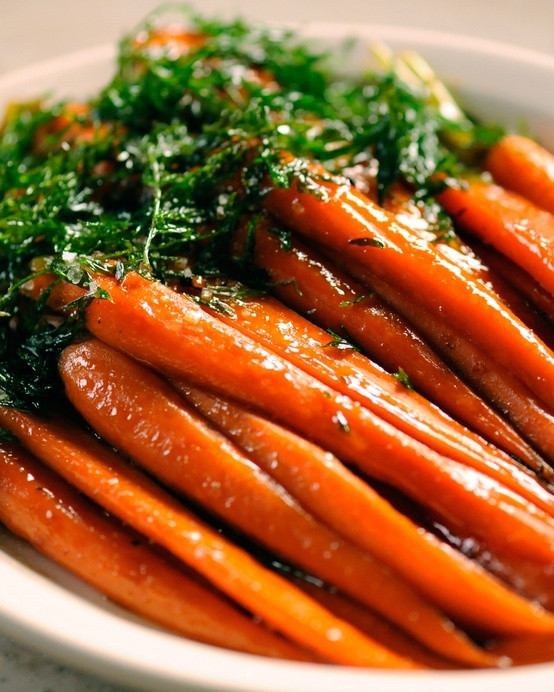 Make Ahead Easter Side Dishes  Brown Sugared Carrots Recipe