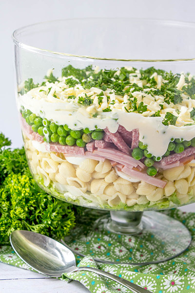 Make Ahead Easter Side Dishes  Make Ahead Eight Layer Salad