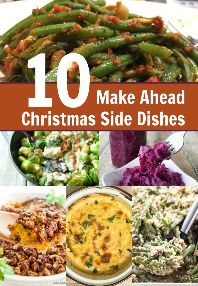 Make Ahead Easter Side Dishes  10 Make Ahead Christmas Side Dish Recipes My Four and