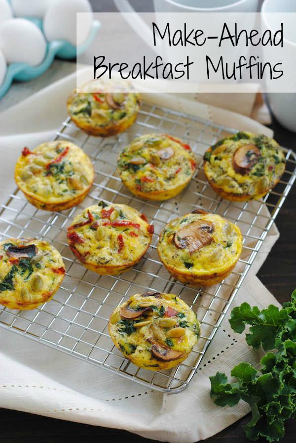 Make Ahead Healthy Breakfast 20 Best Make Ahead Breakfast Muffins Foxes Love Lemons