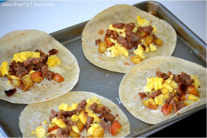 Make Ahead Healthy Breakfast Burritos  How To Make Breakfast Burritos Freezer Meal Idea Our