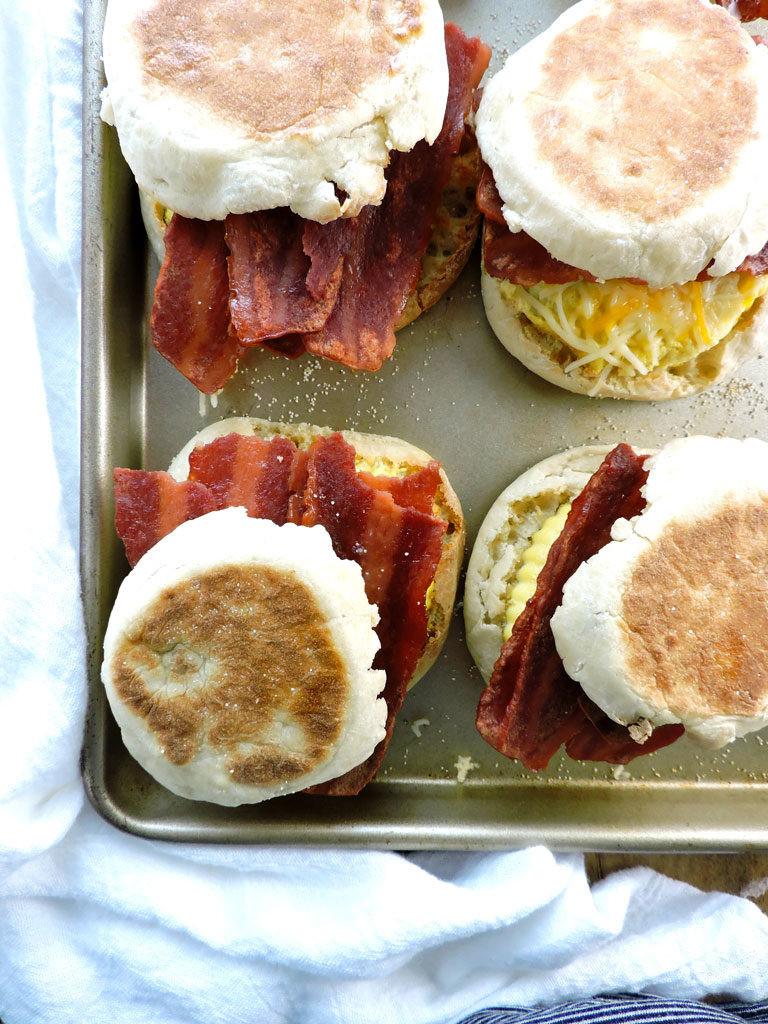 Make Ahead Healthy Breakfast  Make Ahead Healthy Breakfast Sandwiches Fresh Fit Kitchen