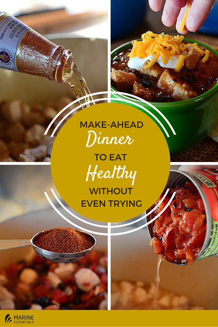 Make Ahead Healthy Dinners  Make Ahead Dinner To Eat Healthy Without Even Trying
