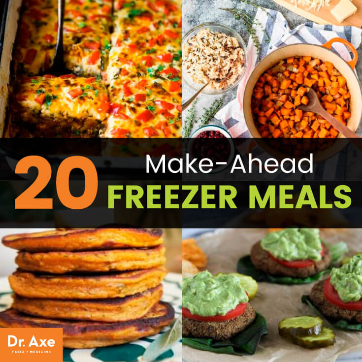 Make Ahead Healthy Dinners  20 Make Ahead Freezer Meals that Are Delicious Healthy