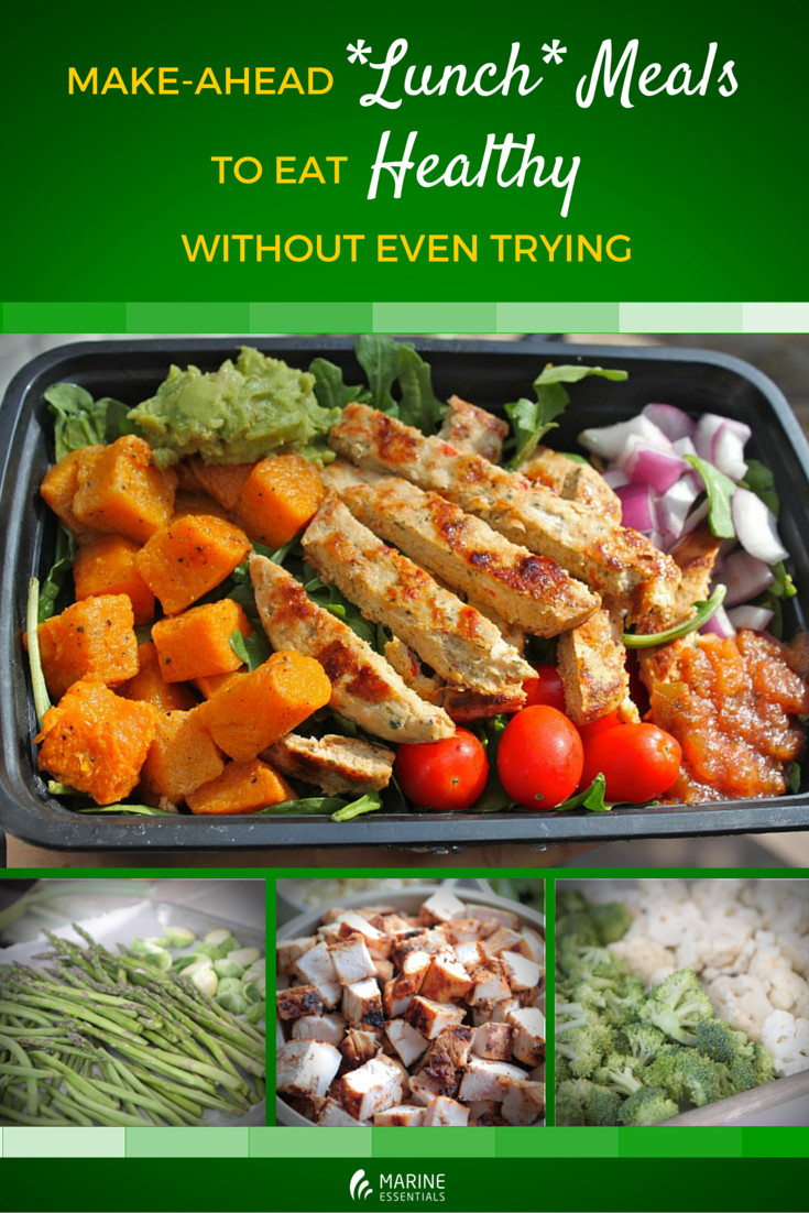 Make Ahead Healthy Dinners  Make Ahead Lunch Meals To Eat Healthy Without Even