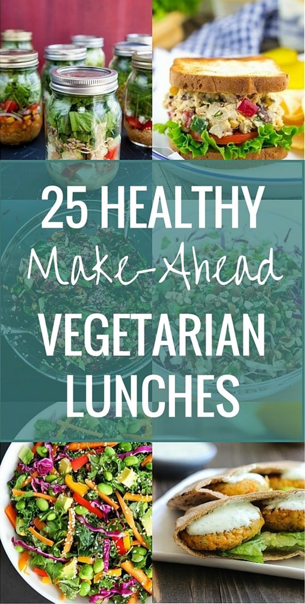 Make Ahead Healthy Lunches  25 Healthy Make Ahead Ve arian Lunches Making Thyme